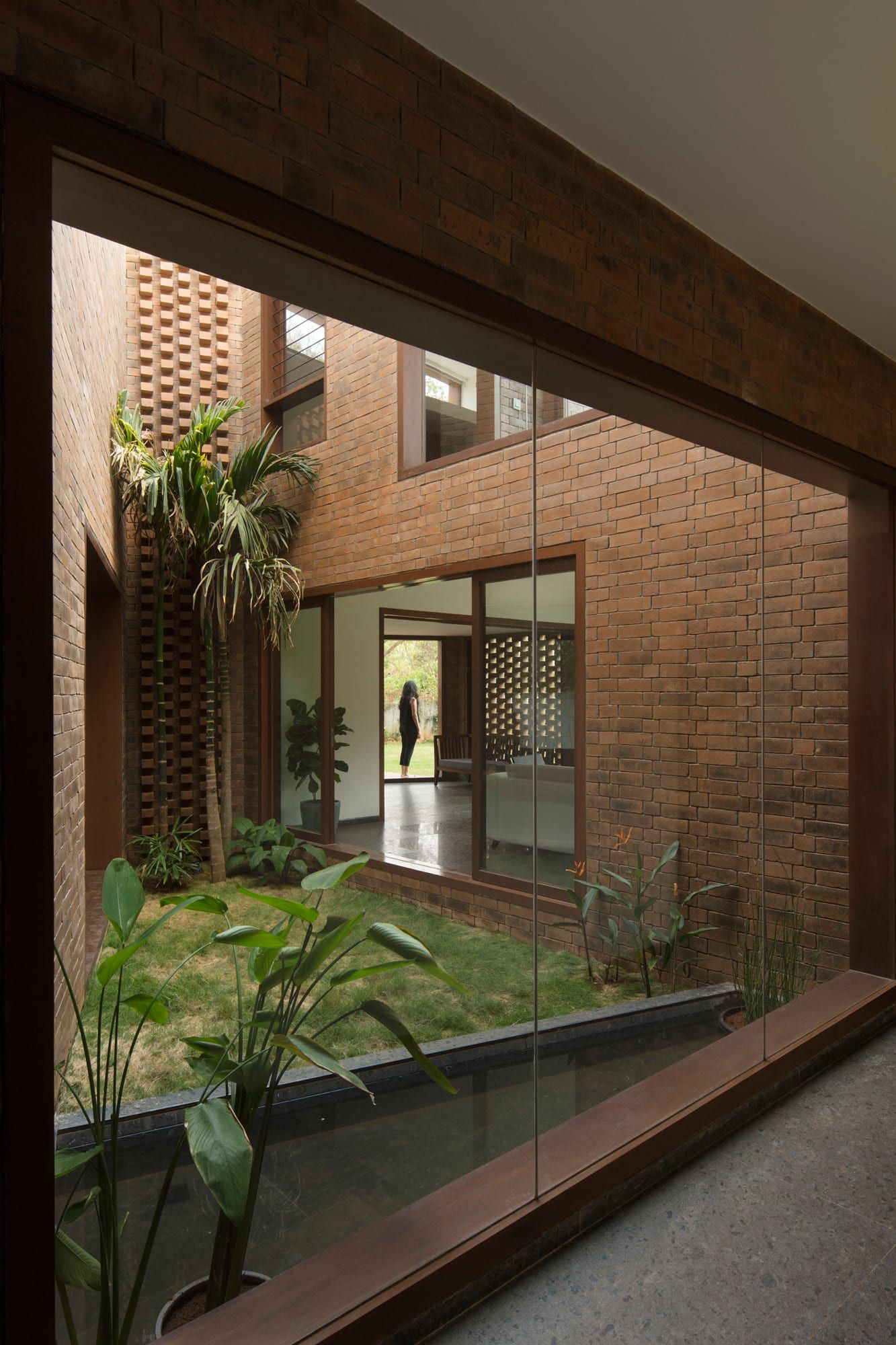 Brick House in Bangalore, India by CollectiveProject