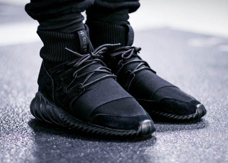 adidas tubular blackout
