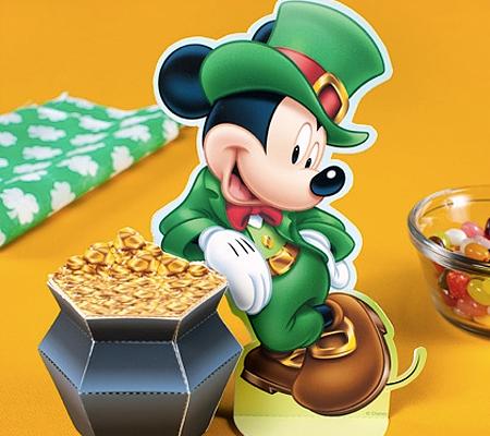 Pot o'Gold Mickey: 10 Adorable, Free St. Patrick's Day Printables! | Disney Baby