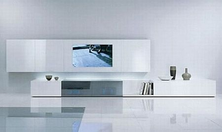 rack tv ideas decoracinsalones minimalistasmuebles - Muebles De Salon De Diseo