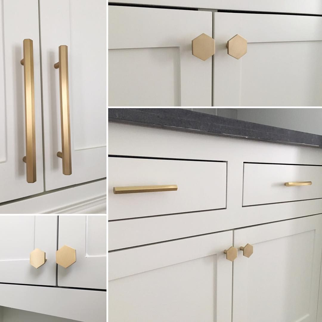 Black Kitchen Cabinets Brass Hardware: Pin By Tanya Dyer On Dream House