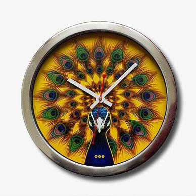 Peacock Wall Clock Made in India StoryLTDcom HomeDecor