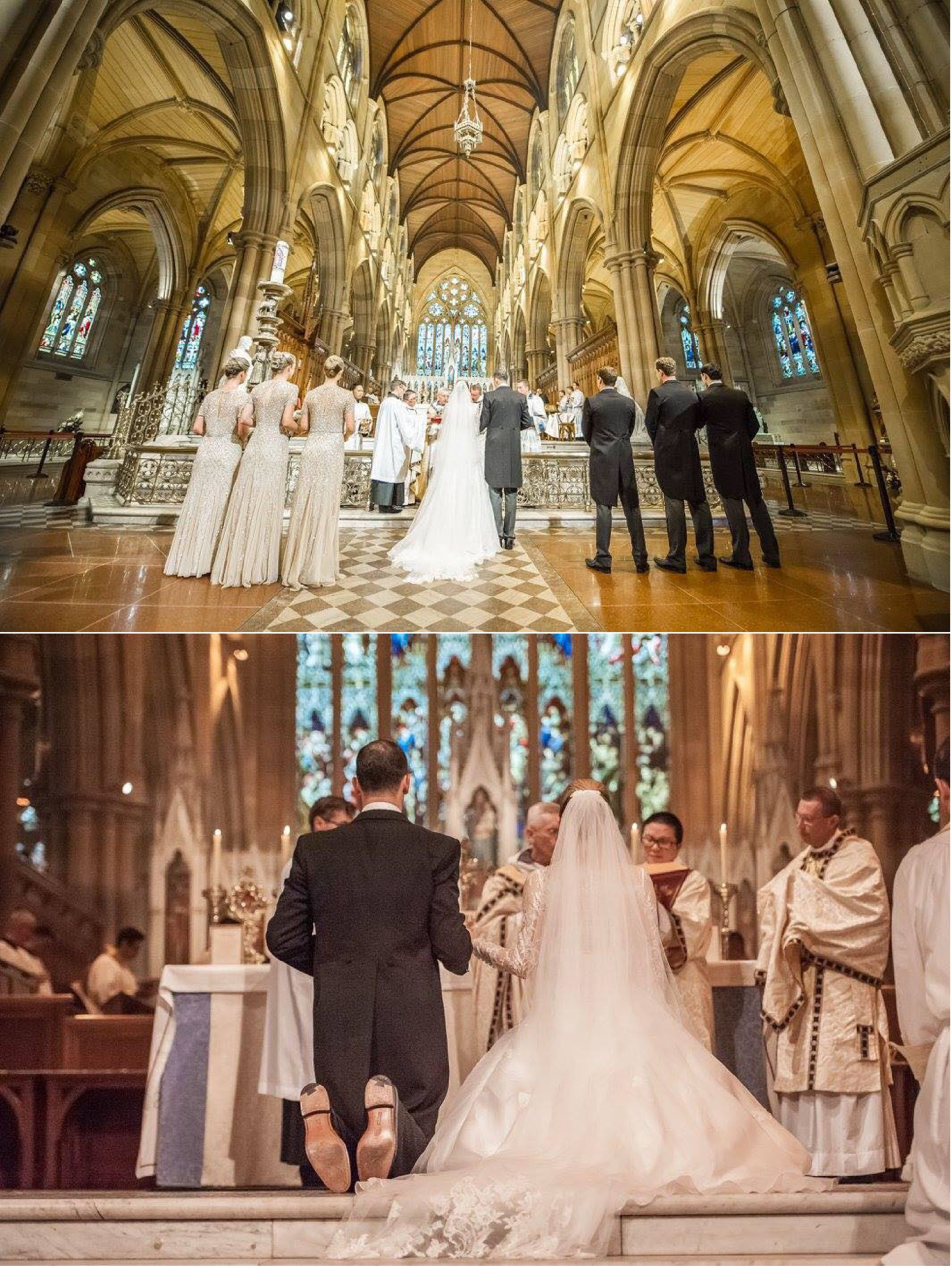 Saint Mary S Cathedral Sydney Australia Catholic Wedding Ceremony Catholic Wedding Australia Wedding