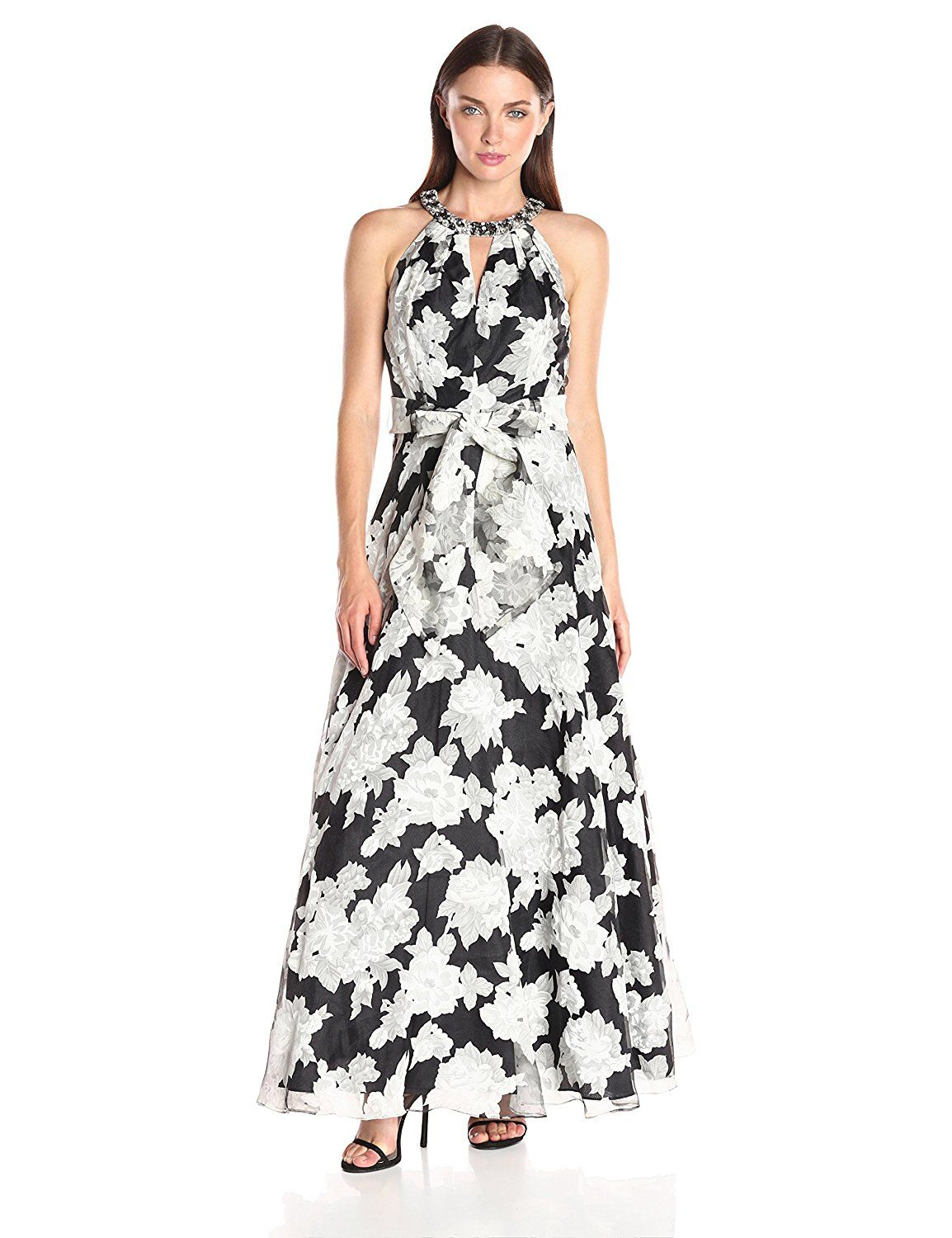 Eliza j womenus printed ball gown dress find out more about the