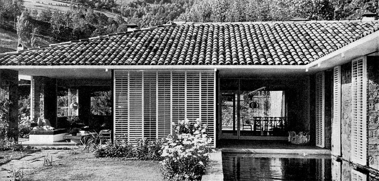 Ballv house casa ballv camprod n girona catalonia for Josep antoni coderch