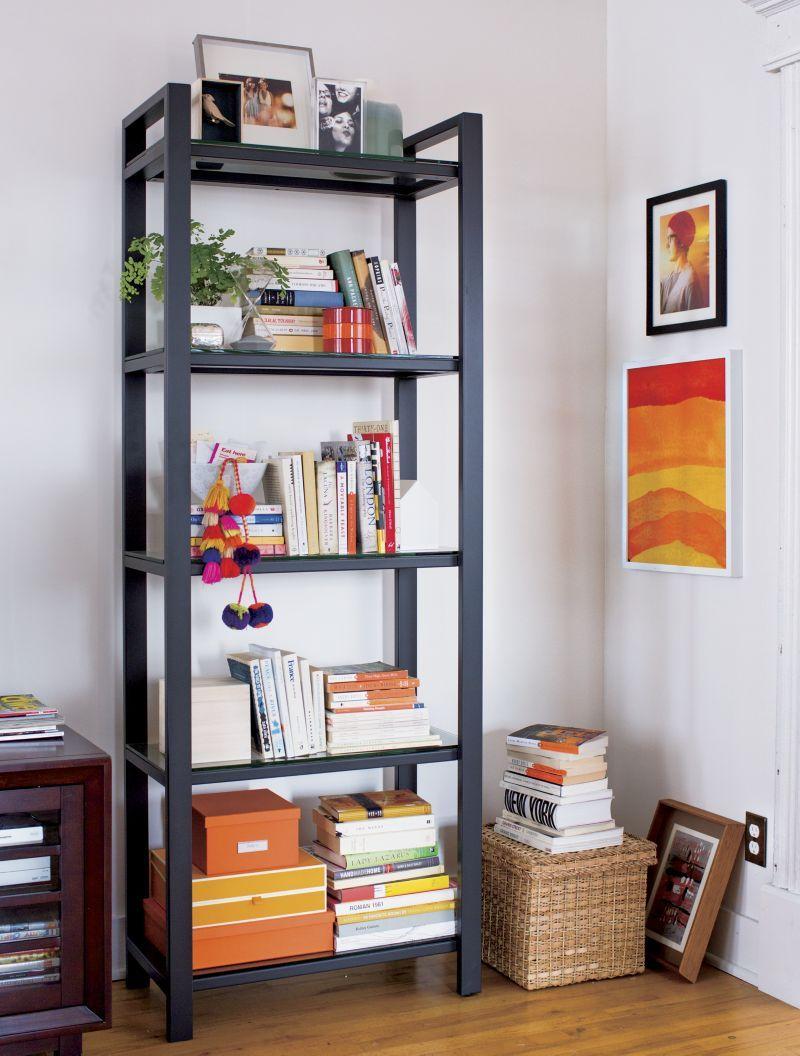 Pilsen Graphite Bookcase  | Crate and Barrel