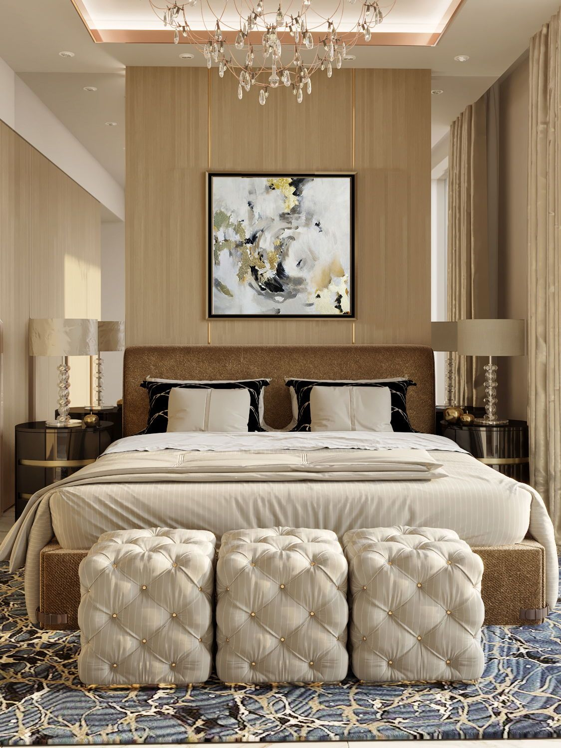 Interior Art Painting Decor For Bedroom Interior Master Bedroom Interior Design Interior Design Bedroom Interior Design