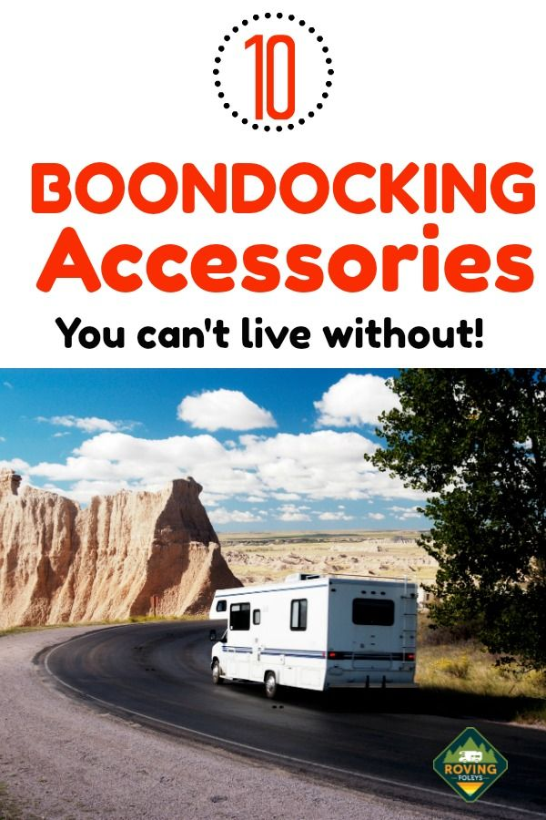 Photo of 10 Boondocking Accessories | The Roving Foley's