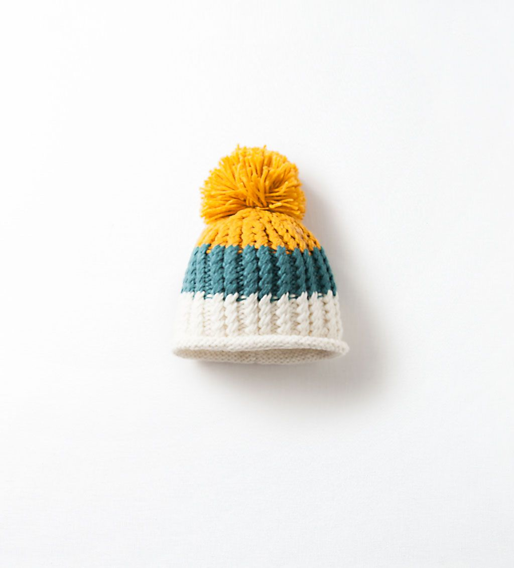 2a3aee10 POMPOM DETAIL PATTERNED HAT-Hats, scarves and gloves-Accessories-Baby boy  (3 months - 3 years)-KIDS   ZARA United Kingdom