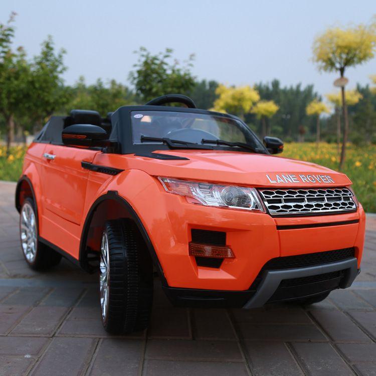 four wheel dual gear motor child electric car remote contrller car for kids car