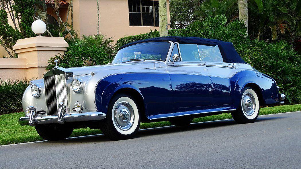 Rolls Royce Other Silver Cloud II Convertible | eBay