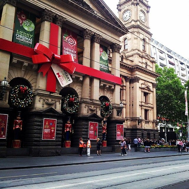 Seem genius decided to wrap up the city of Melbourne... It