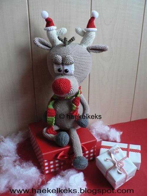 Rentier Bolle -- Häkelanleitung | Winter und Weihnachten | Pinterest ...