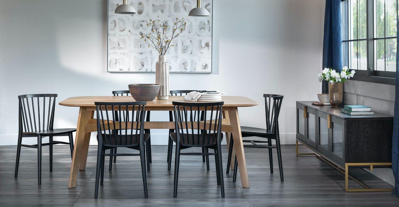 Rus Black Dining Chair In 2020 Scandinavian Dining Room Black Dining Chairs Dining Room Inspiration