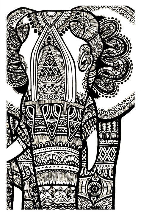 Coloriage Elephant Difficile.Galerie De Coloriages Gratuits Coloriage Elephant Gratuit Adulte
