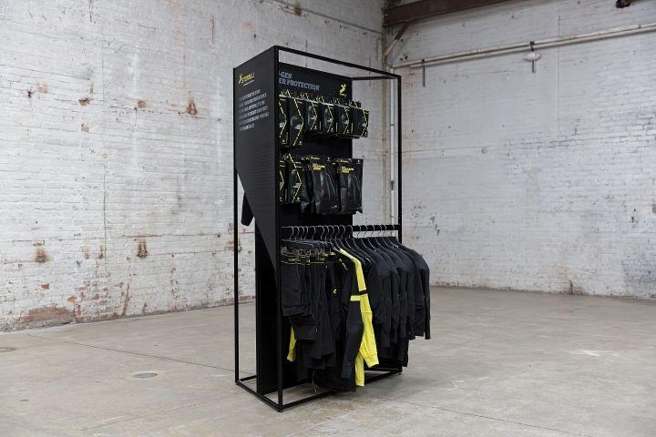 Storelli Sports retail fixture by Eight Inc. » Retail Design Blog