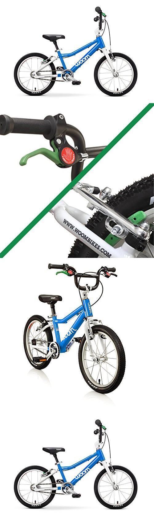 Woom Bikes Usa Woom 3 Bike 16 Inch 4 6 Years Blue Automatix Blue