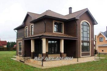 Фото построенного дома(проект 98A) | Домашняя мода, Дом и ...