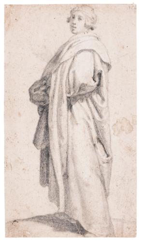 rosselli matteo a man stand | portrait - male | sotheby's l16040lot82bbren
