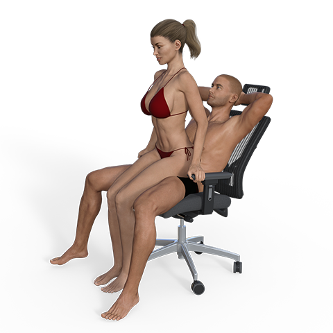 Recommend the hot seat sex position pity