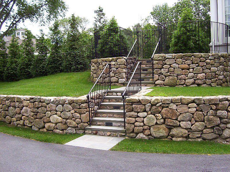 Fieldstone Rock Patios : Stoneyard new england fieldstone stone walls