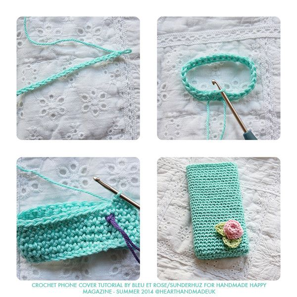 How To Crochet A Phone Case | crochet | Pinterest | Free pattern ...