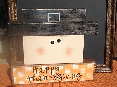 This would be cute...use scrap paper for the shirt!!  Giggles Galore: Thanksgiving