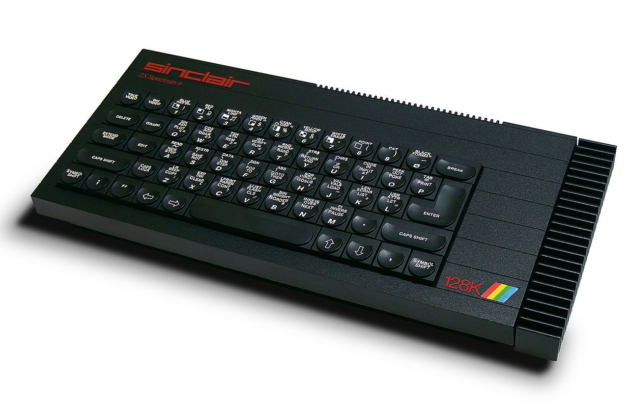 PC HISTORY: 1984-0621 to 1992 ••Sinclair ZX Spectrum+ 48KB•• £179.95 ($777 in 2014 inflation) • www.wikiwand.com/en/ZX_Spectrum#/ZX_Spectrum.2B