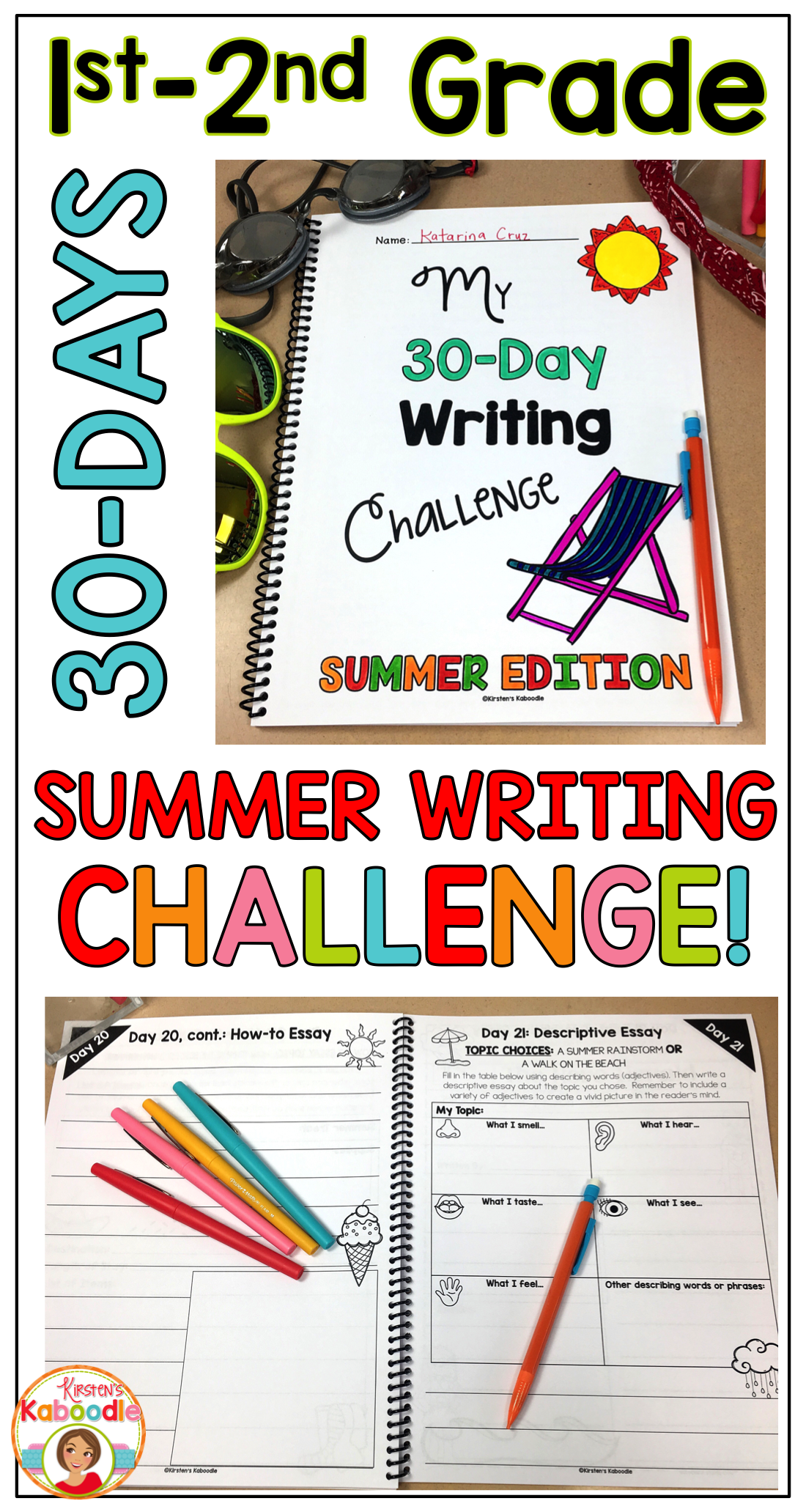 Best English Essay Are You A Teacher Who Wants To Give Your Students A Meaningful And Fun  Summer Writing Challenge This Day Summer Writing Challenge Was Created  For St  How Do I Write A Thesis Statement For An Essay also Process Essay Thesis Summer Writing Challenge  Days Of Writing For St And Nd Grade  Writing Essay Papers