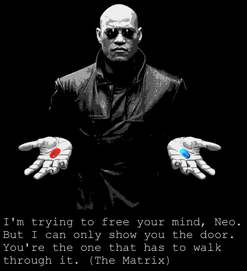 Some quotes from The Matrix Trilogy