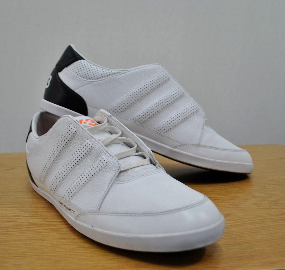 88f7f70b36e45 Adidas Y-3 Yohji Yamamoto Honja Classic Low Sneakers sz 12 (marked 14)  White  fashion  clothing  shoes  accessories  mensshoes  athleticshoes  (ebay link)