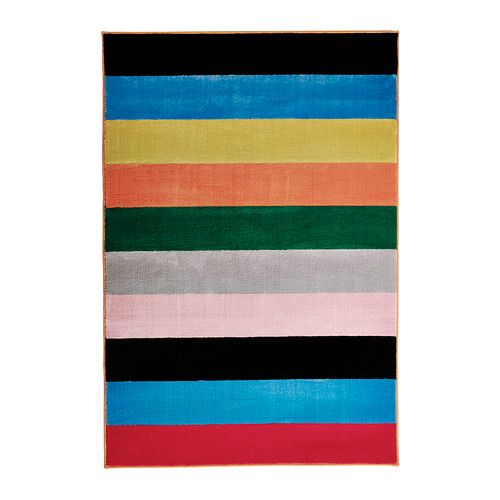 RANDERUP Matta, kort lugg IKEA Slitstark, fläcktålig och enkel att sköta eftersom mattan är gjord av syntetiska fibrer.