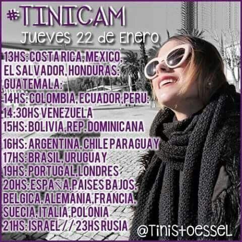 Ya se confirmó habrá #Tinicam ♥
