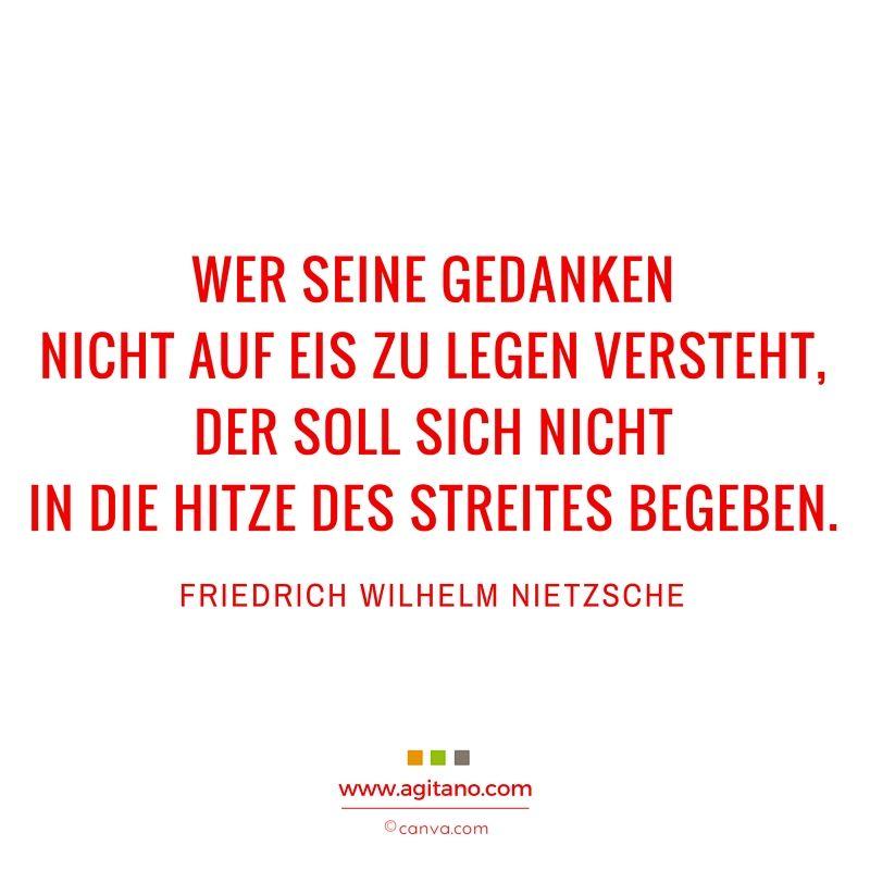 Friedrich Wilhelm Nietzsche Wer Seine Gedanken Agitano Zitate Gedanken Zitate Lustig