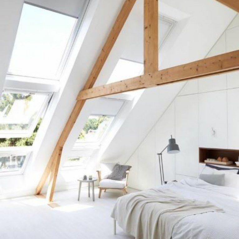 E Schlafzimmer Dachschr臠e