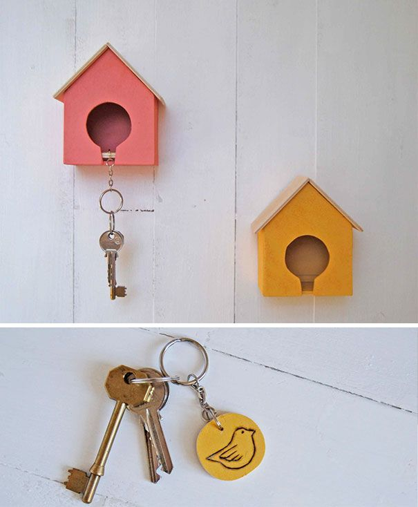 19 Clever And Functional Key Holders Key Holder Holder Design Wall Key Holder