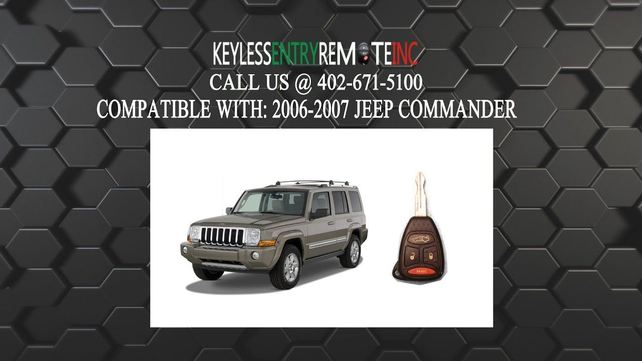 How To Replace Jeep Commander Key Fob Battery 2006 2007 Jeep