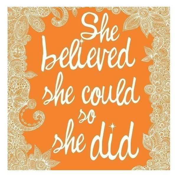 just believe and do