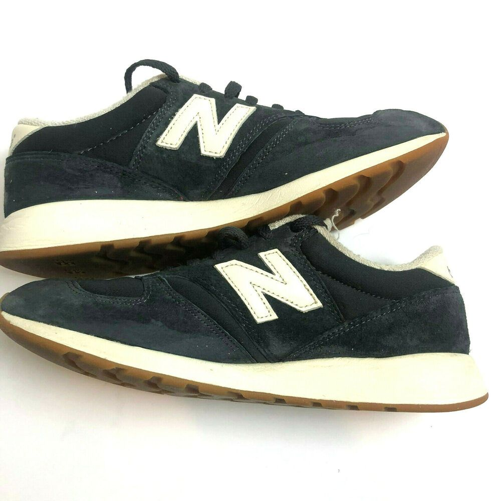 New Balance 420 Suede Trainers Womens