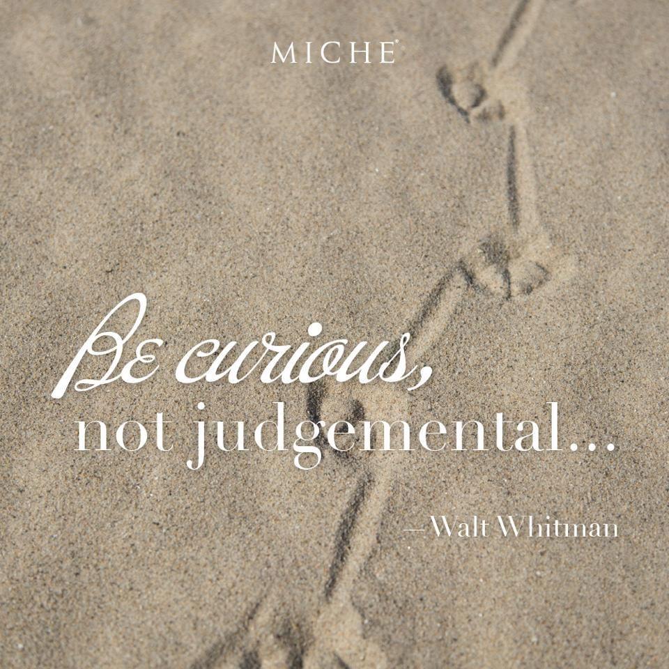 Excellent advice... *Miche Canada* #michecanada #michefashion #fashion #style #purses #handbags #accessories
