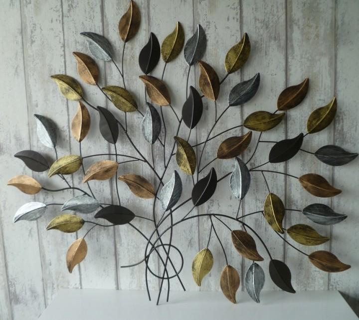 Metalen Wanddecoratie Boomtak Fargus Muurdecoratie Bomen 3d Muurdecoratie Boomtakken Muurdecoratie