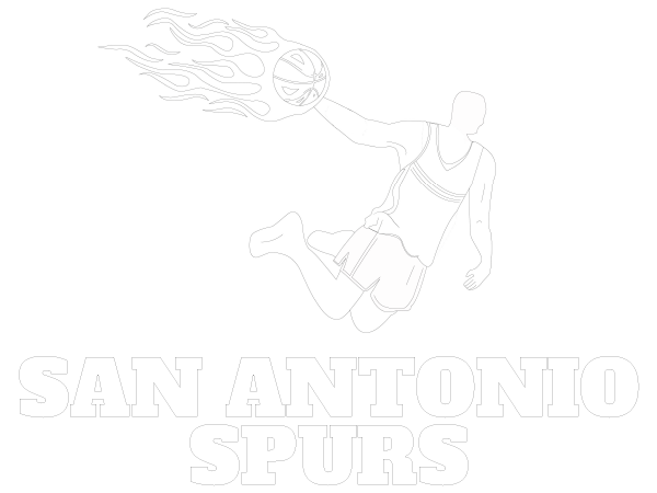 Printable San Antonio Spurs Coloring Sheet | NBA Coloring Sheets ...