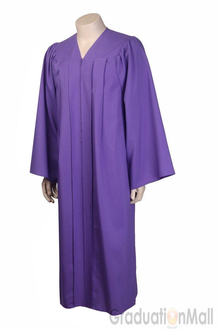 Premium Graduation Gown Only--Purple-$19.95 | Bachelor Gown | Pinterest