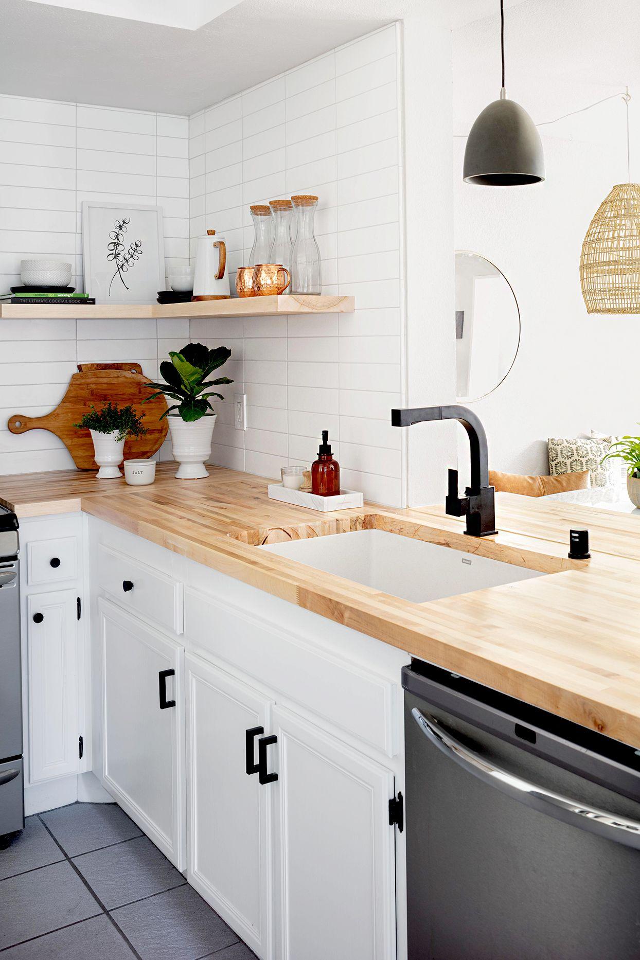 Our Favorite Budget Kitchen Remodels Under 2 000 In