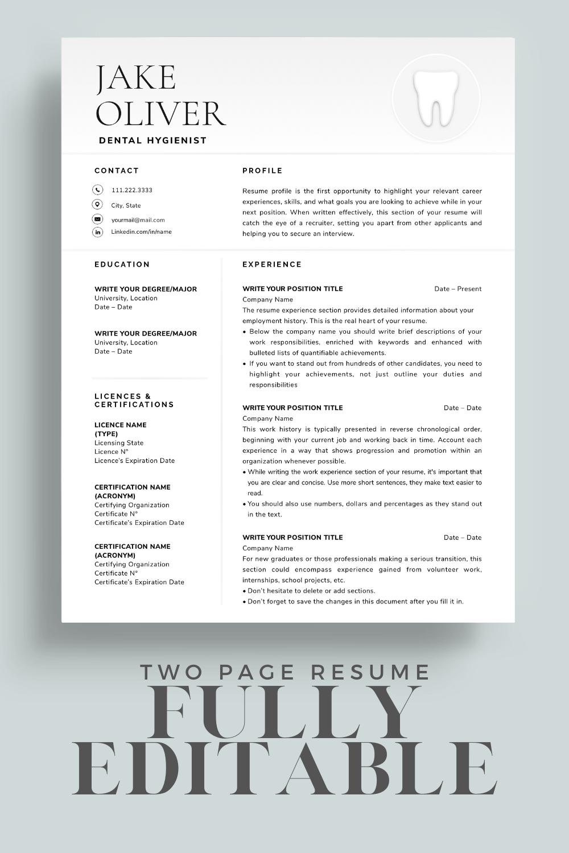 Pin on New Graduate Resume & Career Tips