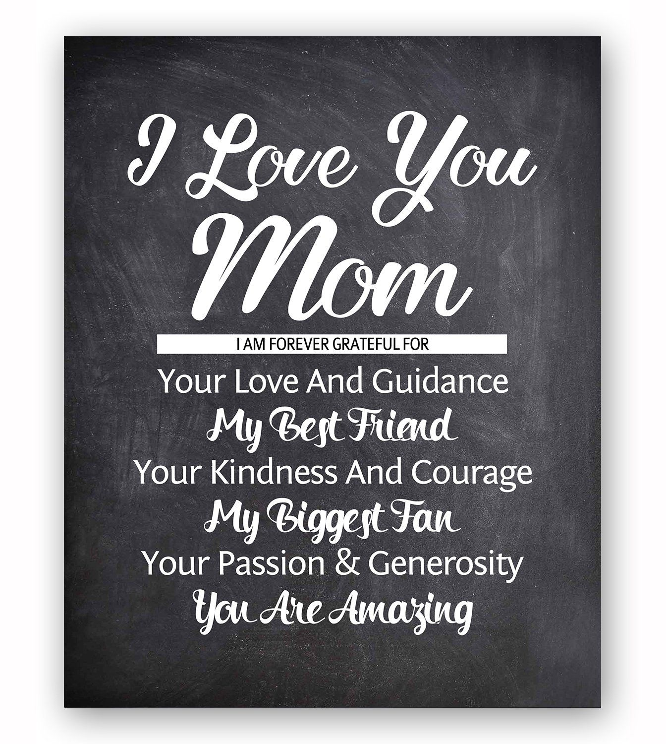 You Are My Favourite Typography Print Poster Unframed Quote Gift Mother/'s Day
