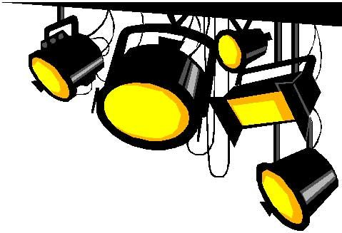 stage lights clip art clipart happy planner pinterest stage rh pinterest ca clipart light bulb idea light clipart images