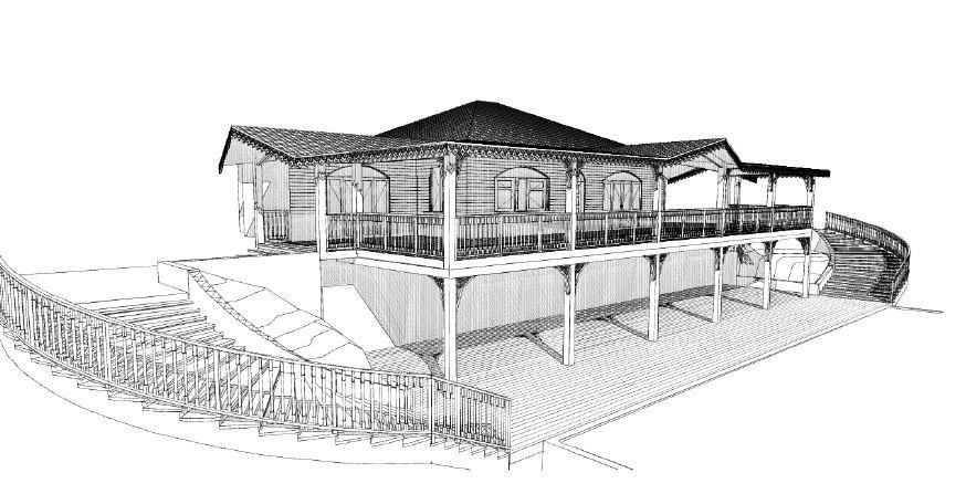 Incroyable Plan De Maison Coloniale #10: Architecture De La Maison