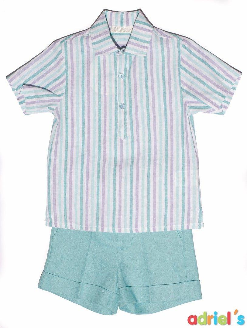 634a3981dcd Conjunto turquesa para niño de Dolce Petit