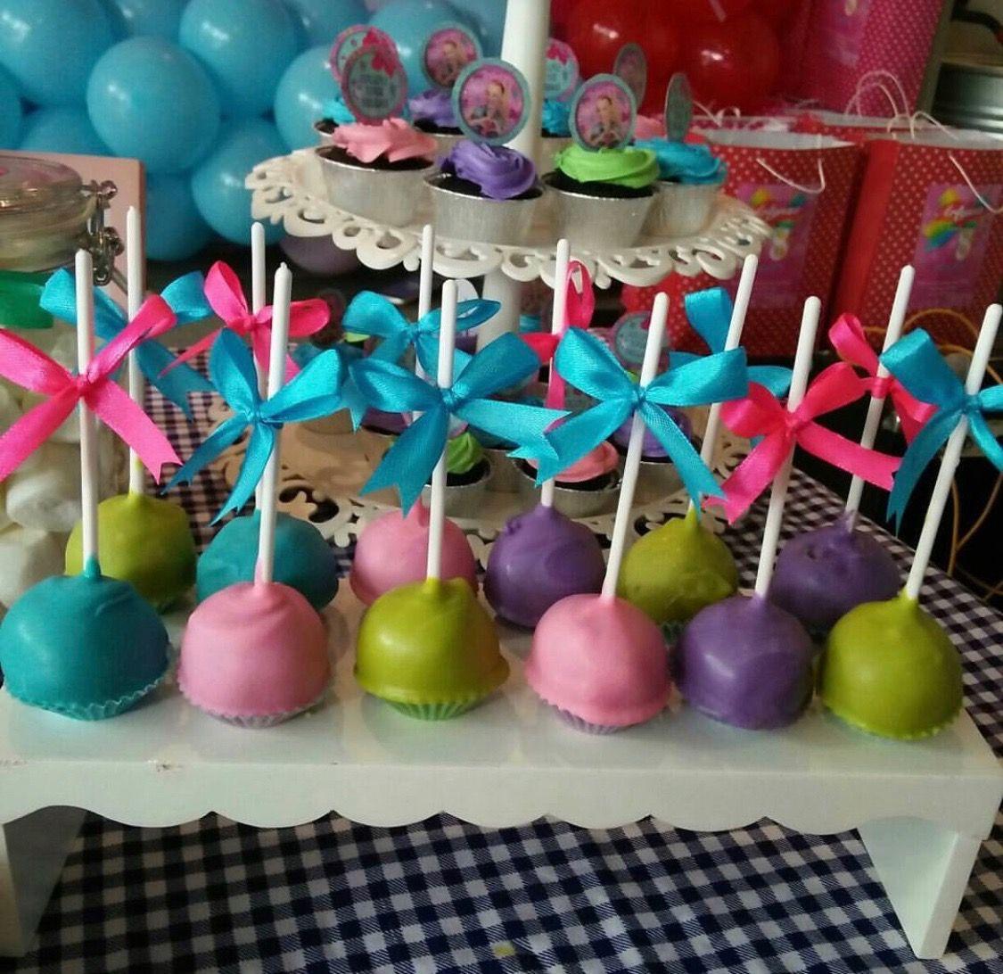 Jojo Siwa Cake Pops